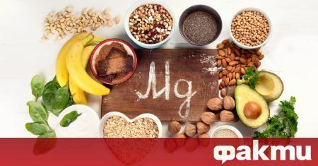 Магнезият е изключително важен елемент за поддържане на добро здраве