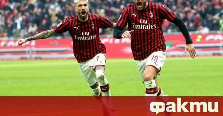 Милан спечели с убедителното 4:1 при визитата си на Лече