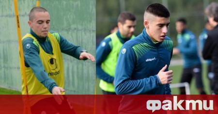Двама юноши на Черно море подписаха договори с клуба. Това