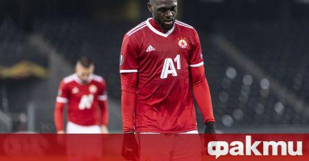 Халфът на ЦСКА Амос Юга, може да продължи кариерата си