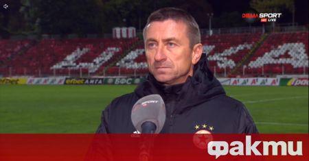 Помощник-треньорът в ЦСКА Анатоли Нанков сподели след победата с 3:0