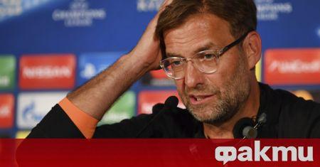 Мениджърът на Ливърпул Юрген Клоп остана доволен от играта на