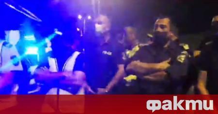 Няма арестувани граждани при и след снощната блокада на АМ