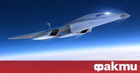 Компанията Virgin Galactic представи проект на своя нов свръхзвуков пътнически