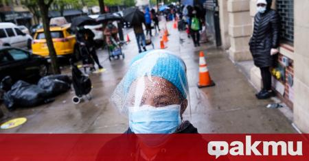 Новият коронавирус е причинил смъртта на 1081 души в Съединените