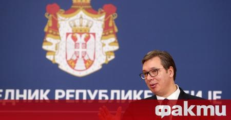 Президентът на Сърбия Александър Вучич подцени надеждите, че споразумението за