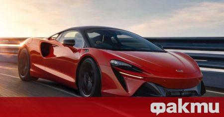 McLaren Artura бе представен преди близо два месеца и макар