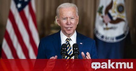 Президентът на САЩ Джо Байдън заяви в понеделник, че броят