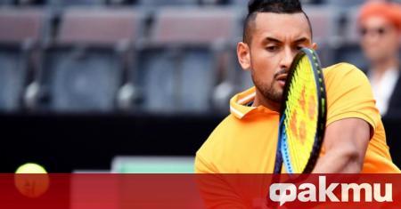 Австралийският тенисист Ник Кириос разкритикува организаторите на демонстративните турнири