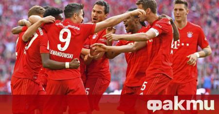 Байерн Мюнхен официално представи новия домакински екип на тима. Екипировката