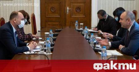 Президентът Румен Радев и постоянният представител на Световната банка у