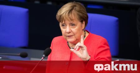 Канцлерът на Германия Ангела Меркел смята, че заради коронавирусната пандемия