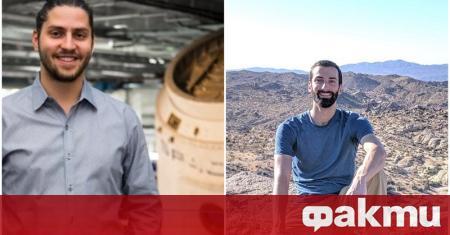 В екипа за историческия полет на частната фирма SpaceX и