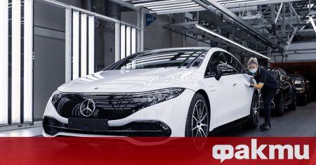 Производството на може би най-интересния модел на Mercedes за тази
