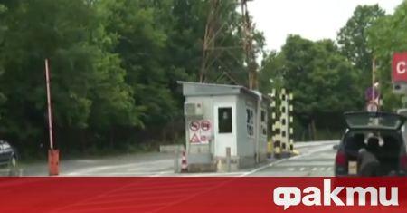 Български автобус, пътуващ по редовната линия Истанбул - Силистра, е