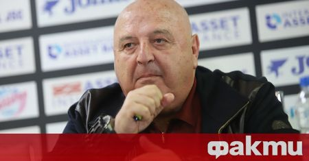 Президентът на Славия Венцеслав Стефанов представи Златомир Загорчич като нов