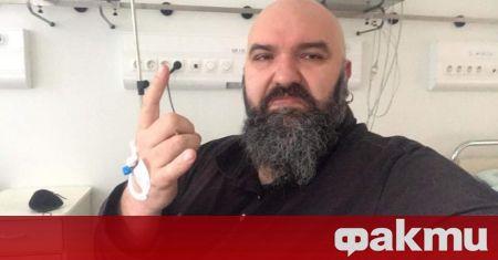 Венцислав Мицов бе приет в Александровска болница с COVID-19 вчера,