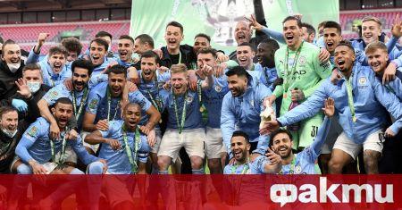 Манчестър Сити завоюва Купата на английската лига (Карабао Къп) на