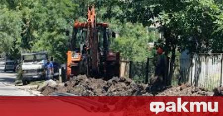 Първа копка на нов водопровод в дупнишкото село Бистрица ще