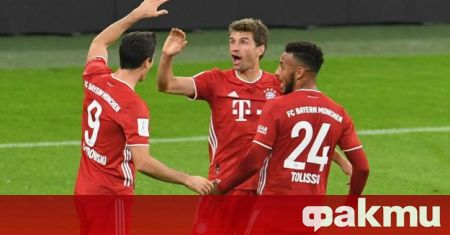 Нападателят на Байерн Мюнхен Томас Мюлер влезе в топ десет