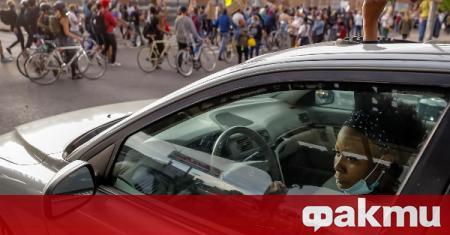 Десетки журалисти обявиха започването на протест срещу действията на полицията