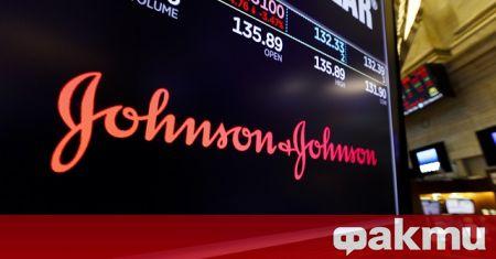 """Компанията """"Джонсън енд Джонсън"""" ще достави до 400 млн. дози"""