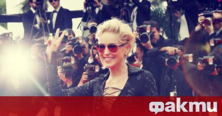Според холивудската звезда Шарън Стоун най-добър в целувките от всичките