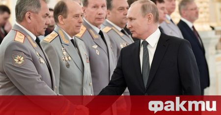 Министърът на отбраната Сергей Шойгу определи обстановката в Европа като