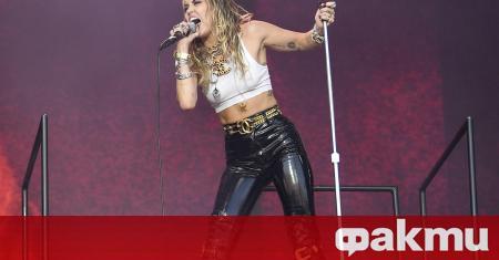 Популярната американска поп звезда Майли Сайръс обяви, че ще пусне