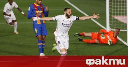 Голмайсторът на Реал Мадрид Карим Бензема е на път да