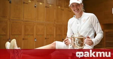 Шампионката от Откритото първенство на Франция Ига Швьонтек ще остане