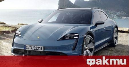 Преди едва няколко дни от Porsche представиха повдигнатата комби версия