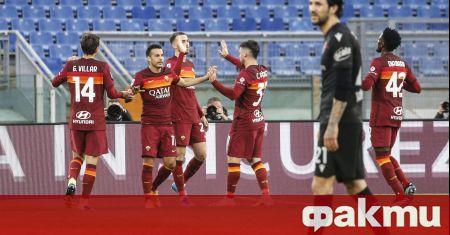 Рома победи Болоня с 1:0 като домакин в среща от