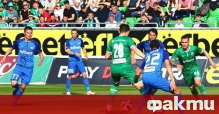 Лудогорец разби с 3:0 Левски в последния си домакински мач