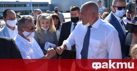 ТВ Враца показа репортаж от вчерашното посещение на премиера Бойко
