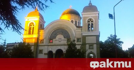 Неизвестни засега извършители са разбили църквата