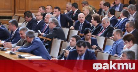 Депутатите приеха на първо четене промените в Закона за държавния