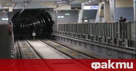 След голямата авария в метрото – поне два месеца трасето