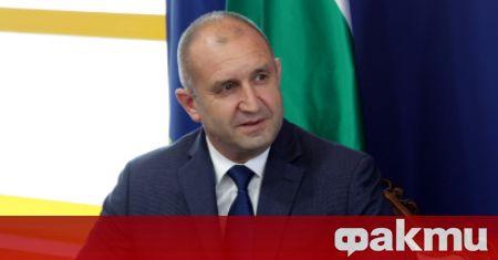 Президентът на Република България Румен Радев ще посети Центъра по