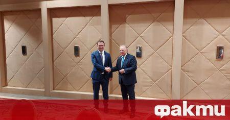 Министърът на външните работи Светлан Стоев се срещна днес с