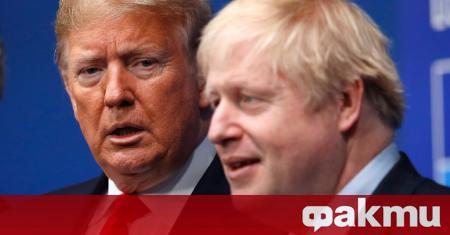 Британският премиер Борис Джонсън, който е болен от COVID-19 и