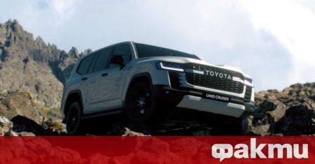 Toyota показа новото поколение Land Cruiser преди едва няколко седмици,