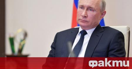 Държавният глава на Русия призова руските граждани да спазват ограниченията
