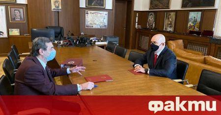Главният прокурор на Република България Иван Гешев и президентът на
