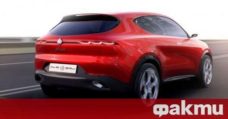 Alfa Romeo Tonale дебютира за първи път в концептуална форма