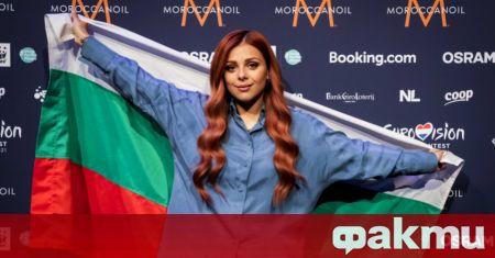 Виктория Георгиева отведе България на финала на Евровизия 2021, след