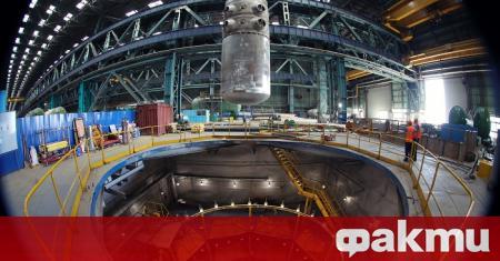 """Корпусът на реактора на Първи енергоблок на АЕЦ """"Аккую"""", която"""