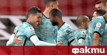 Ливърпул спечели с 4:2 срещу Манчестър Юнайтед на