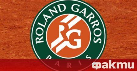"""Турнирът от Големия шлем """"Ролан Гарос"""" ще бъде отложен за"""