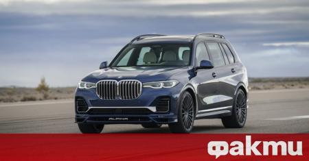Alpina представи своята доработка на BMW X7 M50i, доближавайки се